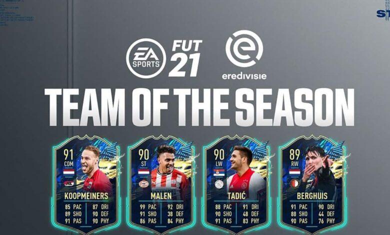 FIFA 21: TOTS Eredivisie - Anunciado el equipo de la temporada