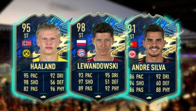FIFA 21: aquí está la fuerte TOTS Bundesliga que elegiste