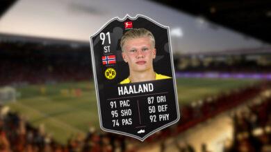 FIFA 21: aquí hay una mejor alternativa a POTM Haaland