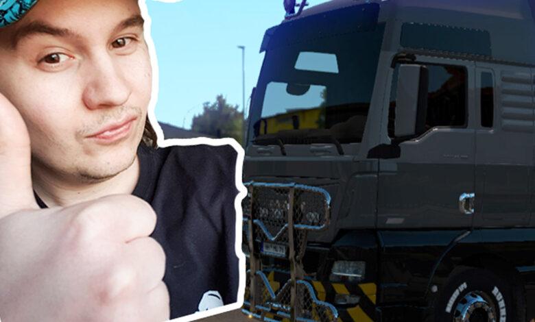 """Finalmente ya no tengo que """"hacer trampas"""" para el multijugador en Euro Truck Simulator 2"""