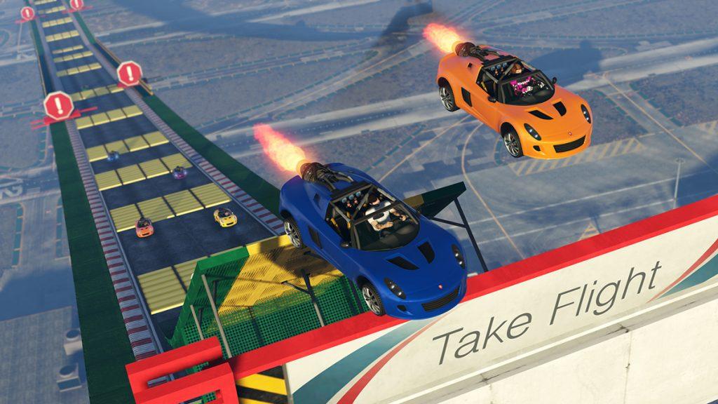GTA 5 Online Stunt New2