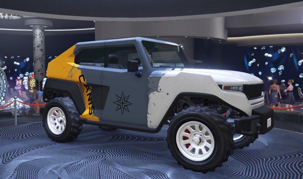 Podio de Freecrawler de GTA Online