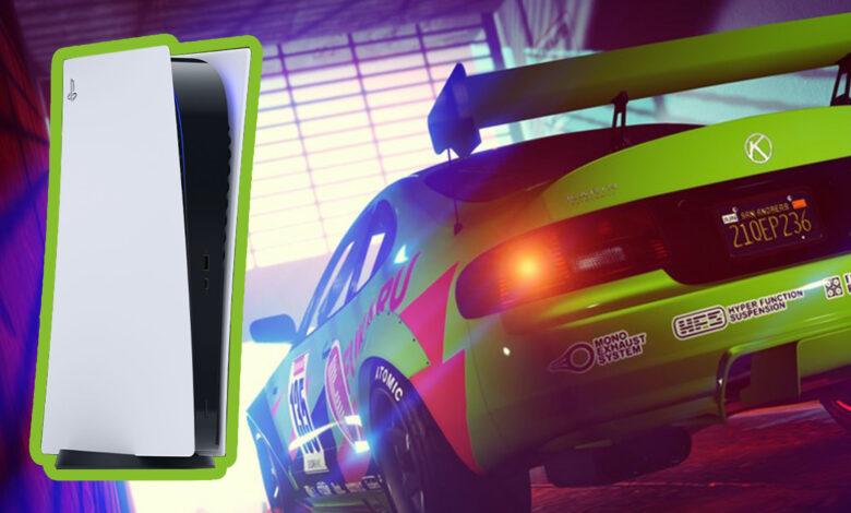 GTA Online trae una gran actualización para los fanáticos de tuning y muestra el lanzamiento de una nueva versión en PS5 y Xbox Series X | S