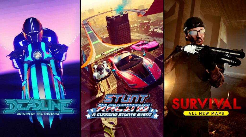 Supervivencia de la fecha límite de acrobacias de GTA Online