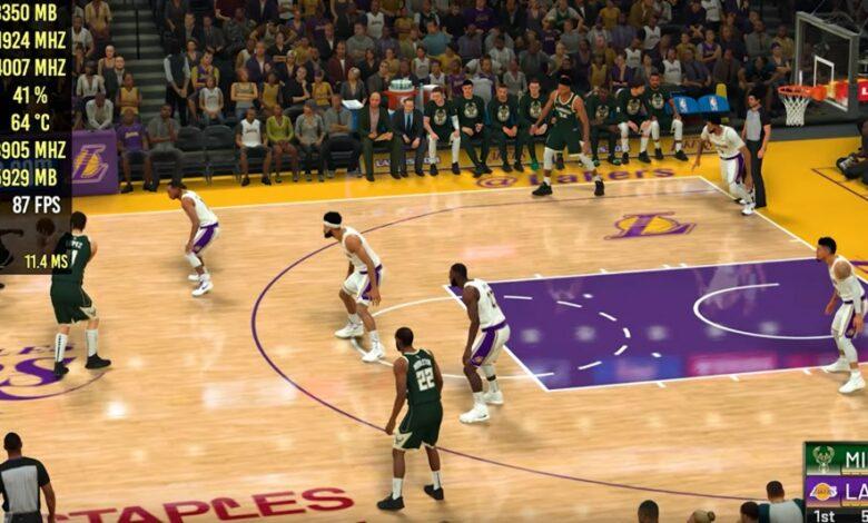 La mejor configuración de gráficos NBA 2K21 para solucionar problemas de FPS bajos