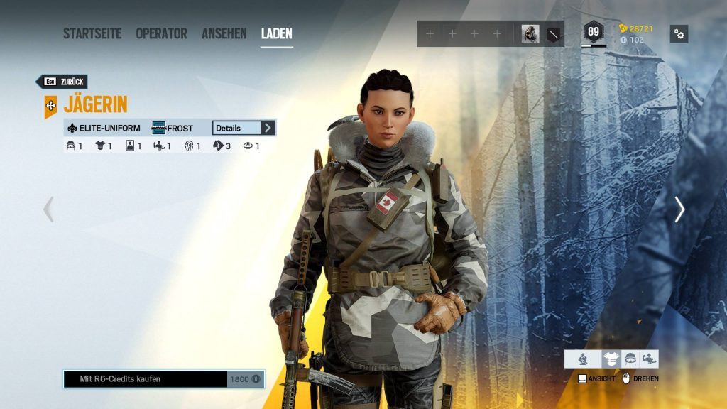 Rainbow Six Siege Elite Skins Escarcha