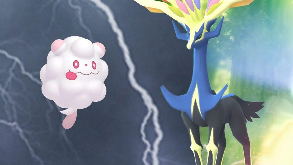 Título de Pokémon GO Xerneas Fluff