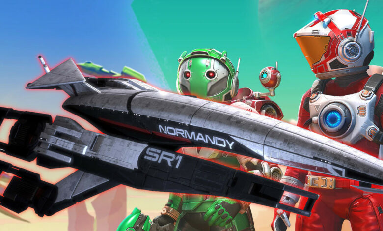 No Man's Sky ahora tiene la nave espacial más famosa en la historia de los videojuegos