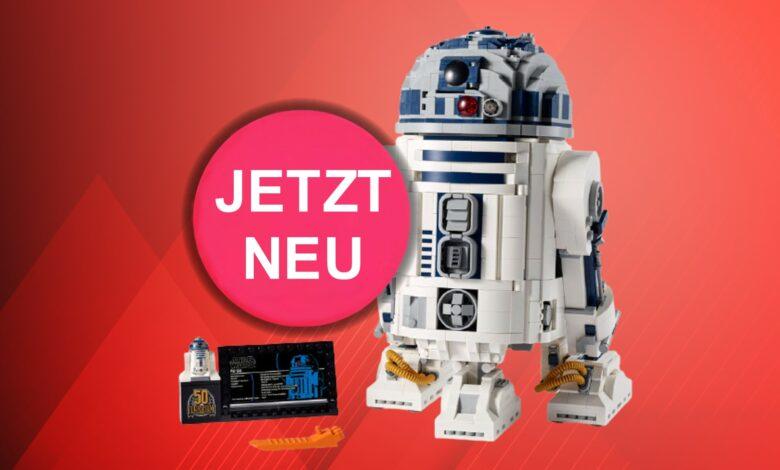 Nuevo R2-D2 de Lego Star Wars y más ahora exclusivamente en la tienda oficial