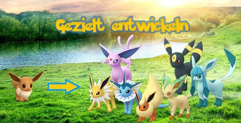 Pokémon GO: Evoli Entwicklung – Namen, Kilometer-Trick, Lockmodule