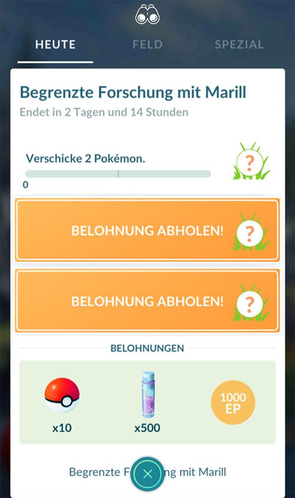 Evento de Pokémon GO Marill anticipado