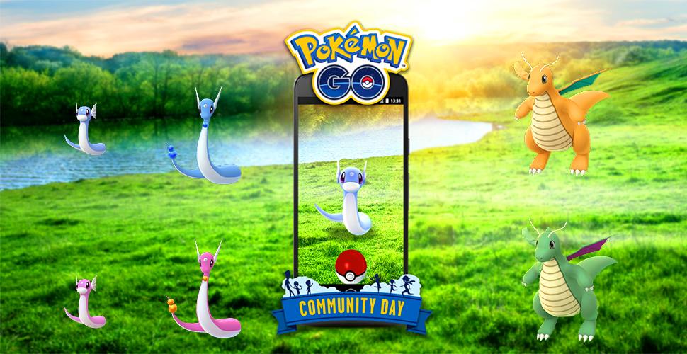 Familia Pokémon GO Shiny Dratini