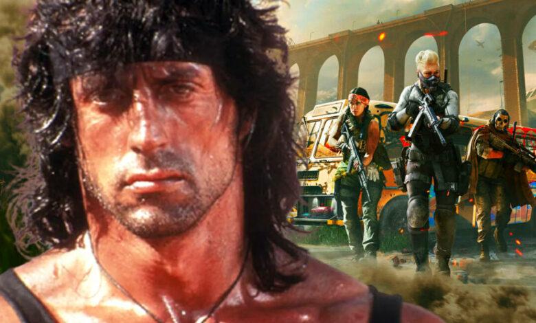 Pronto podrás revolver CoD Warzone como Rambo - tráiler y fecha