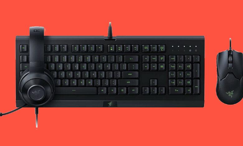 Ratones y teclados para juegos que puedes conseguir más baratos en Amazon Gaming Week