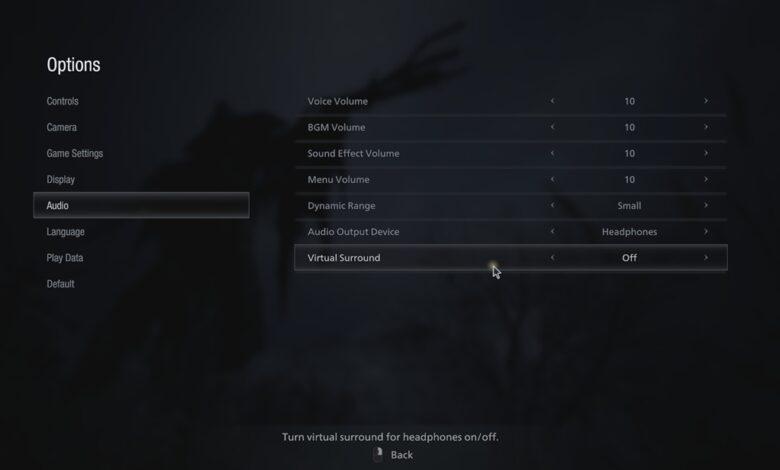 Resident Evil Village (RE8) - Error de audio o sonido - No puedo escuchar la voz de Ethan - Cómo solucionarlo