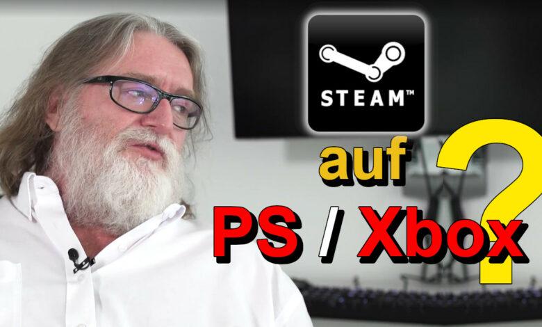 Steam pronto en PS5 y Xbox Series X? Eso es lo que dice el jefe de Valve