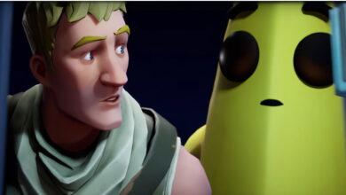Todo el mundo ama el plátano en Fortnite, eso está detrás de la fruta de tiro