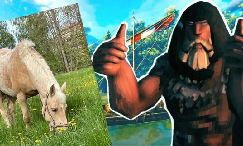 Valheim tiene tanto éxito que los desarrolladores están regalando un caballo de verdad