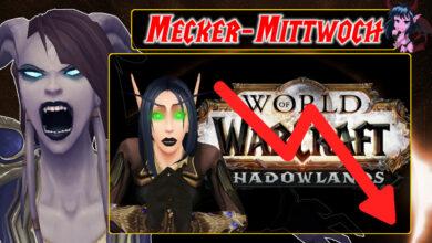 WoW: Shadowlands ha perdido, no importa lo que haga Blizzard ahora