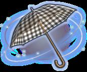 parasol a cuadros negro ffxiv