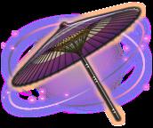 pantalla de papel de aceite púrpura ffxiv