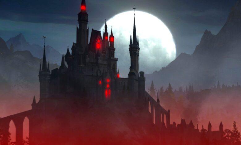 En un nuevo juego de supervivencia en Steam, eres un vampiro y tienes tu propio castillo.