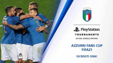 FIFA 21: Azzurri Fans Cup - socio oficial de PlayStation de la selección italiana de fútbol