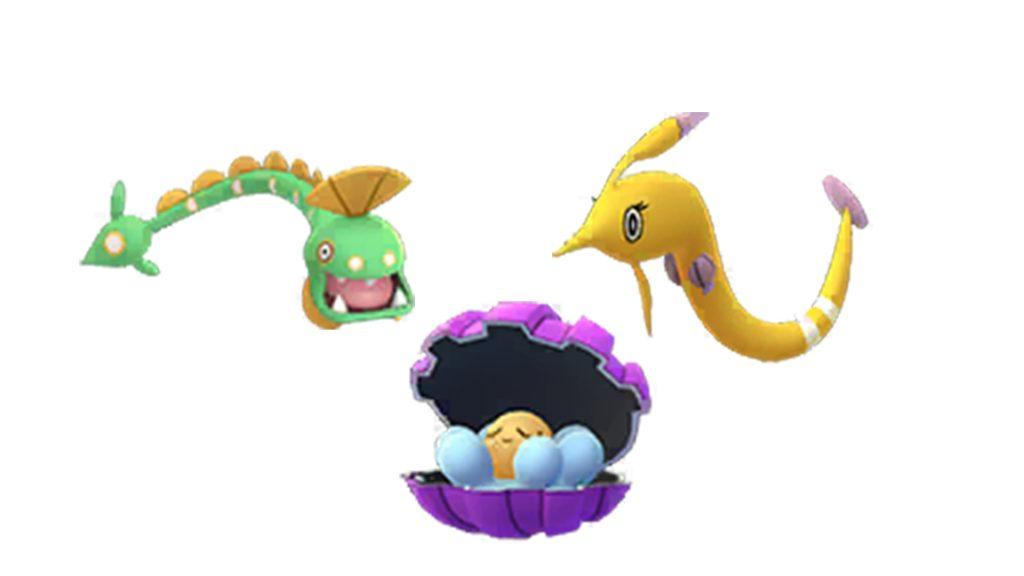 Pokémon GO - Perla brillante y evoluciones