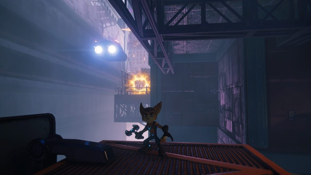 Ratchet & Clank Rift, aparte de todas las ranuras para tornillos dorados