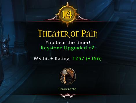 WoW Mythic Plus Clasificación 2