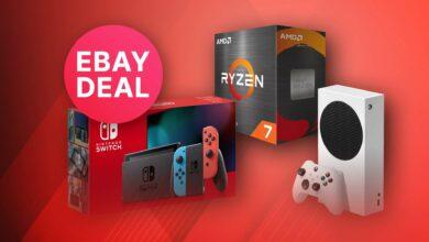Ofertas principales de eBay: Nintendo Switch y Ryzen 5800X a un precio superior