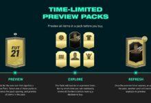 FIFA 21: Preview Packs - Detalles oficiales revelados