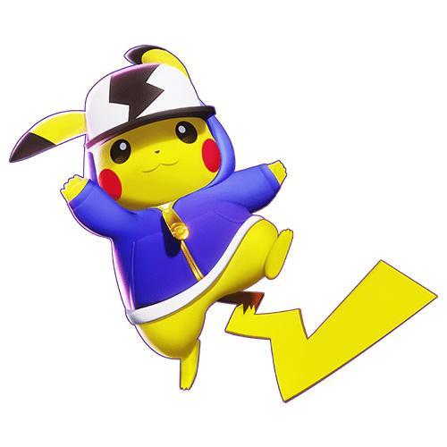 Diseño de Pikachu de Pokémon Unite