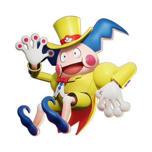 Diseño de mimo de Pokémon Unite
