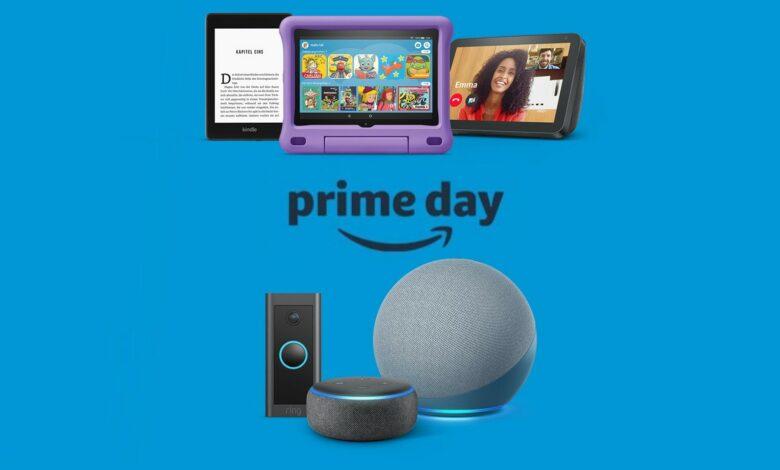Amazon Echo, Kindle, Ring & Co ahora se redujo considerablemente por adelantado para Prime Day