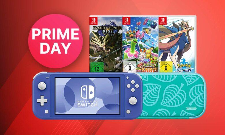 Amazon Prime Day: ofertas en Nintendo Switch: juegos, consolas y accesorios