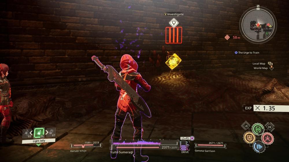 Tarjetas clave de Scarlet Nexus
