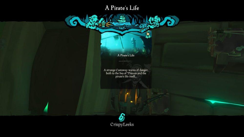 Cómo empezar la vida de un pirata en Sea of Thieves