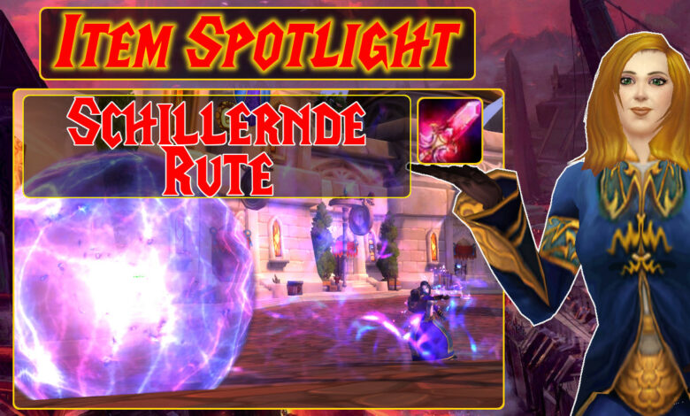 "WoW: Item Spotlight - The Iridescent Rod permite juegos de ""Laser Tag"""