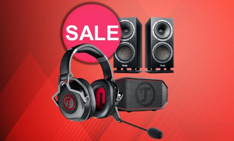 Los mejores auriculares y altavoces para juegos actualmente reducidos en la venta de Teufel
