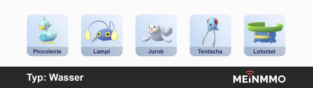 Agua de recomendación de Pokémon Go PVP