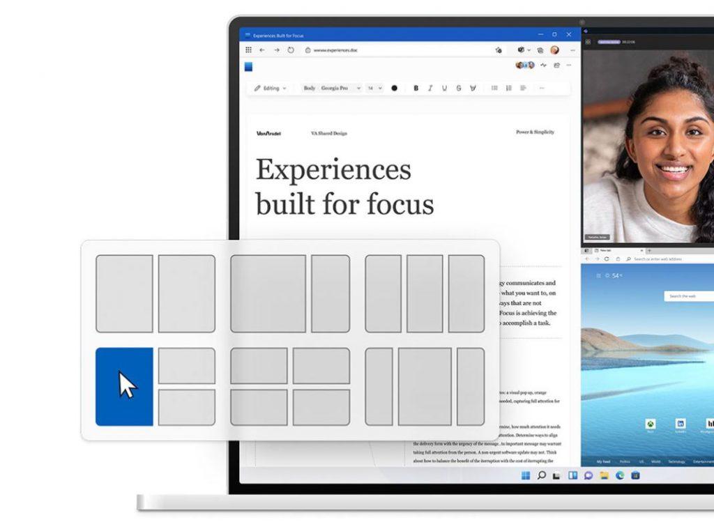 Windows 11: compatibilidad con múltiples ventanas