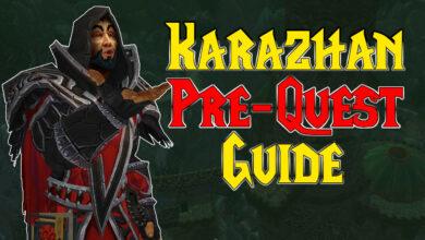 Así es como comienzas y terminas la prequest de Karazhan en WoW Burning Crusade Classic