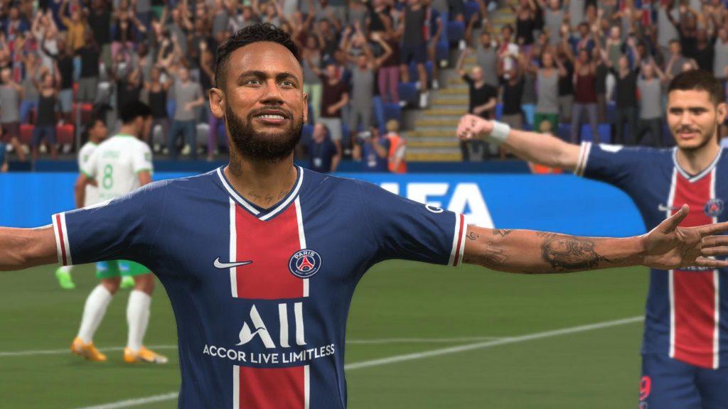 Datos de EA de FIFA 21