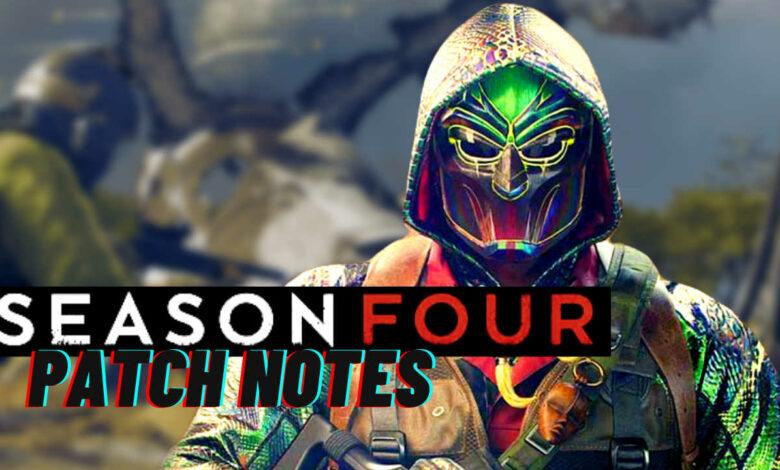 CoD Warzone: mapa de cambios de la temporada 4, muchas armas y notas de parche de piel molestas