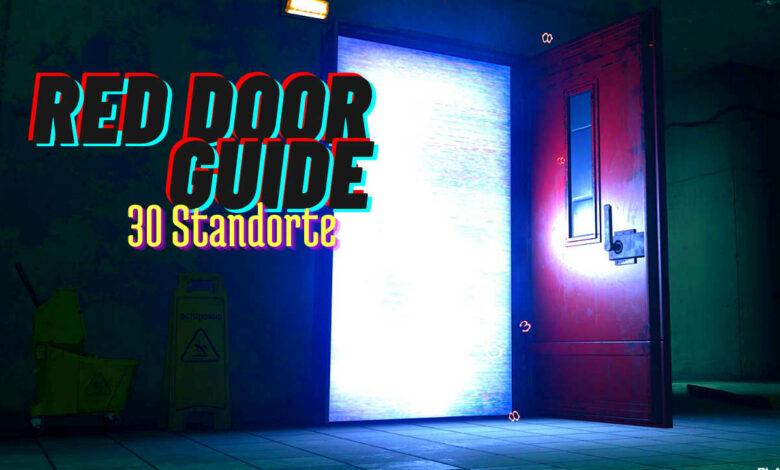"""CoD Warzone: todo sobre el sistema de viaje rápido """"Red Doors"""", con 30 ubicaciones de puertas"""