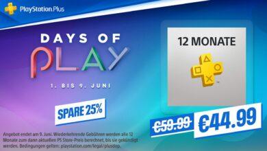 Días de juego en PS Store: obtén tu PS Plus de 12 meses ahora con un 25% de descuento