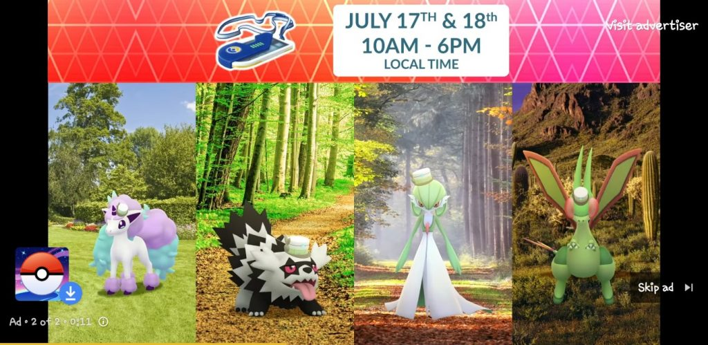 Pokemon Go - Disfraces Go Fest 2021