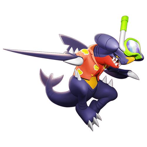 Aspecto Knakrack de Pokémon Unite