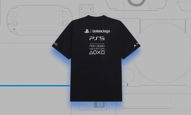 Esta lujosa camiseta de PS5 cuesta más que la propia PlayStation 5